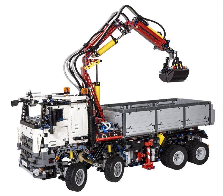 review lego technic 42043 mercedes benz arocs 3245 ichiban toys. Black Bedroom Furniture Sets. Home Design Ideas