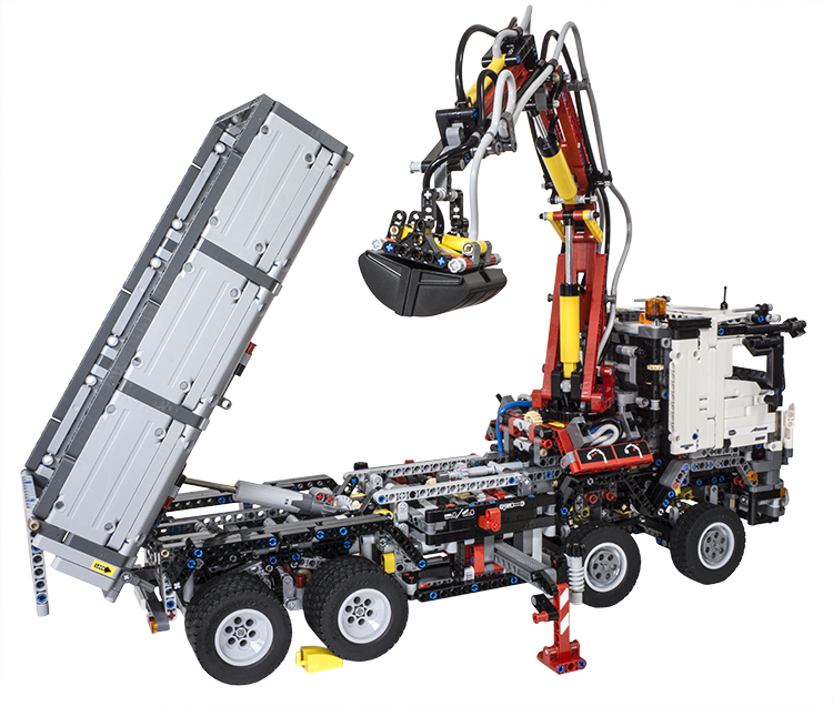 review lego technic 42043 mercedes benz arocs 3245. Black Bedroom Furniture Sets. Home Design Ideas