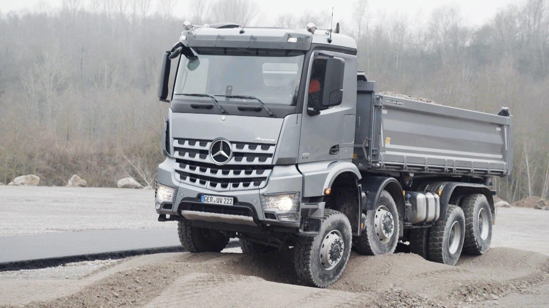 2014 Mercedes Benz Arocs 4145 SLT semi tractor g wallpaper ...