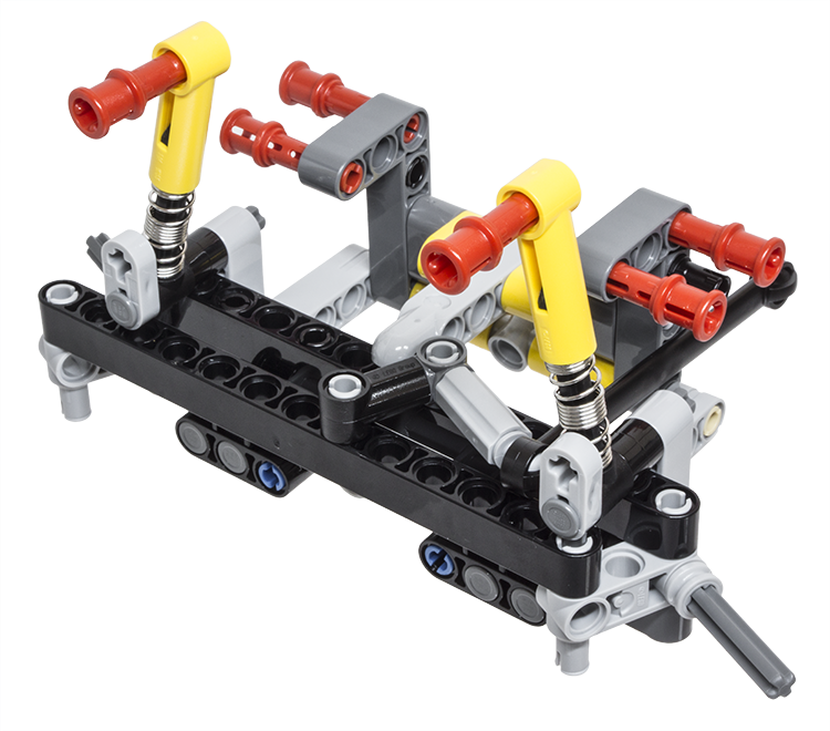 LEGO Technic Building Tip - Steer Axle Suspension - ICHIBAN Toys